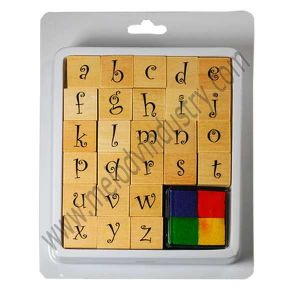 Alphabets Wooden Stamp Kit / Rubber Stamp Kit for DIY Projects pictures & photos