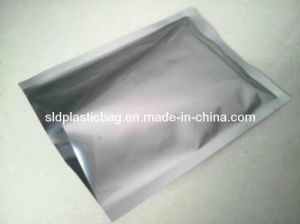 3 Sides Sealing Flat Alumnium Foil Bag Without Printing (L021)
