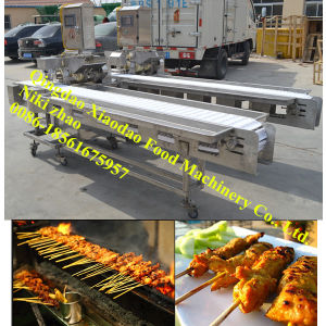 Chicken Kebab/Automatic Meat Skewers Machine pictures & photos