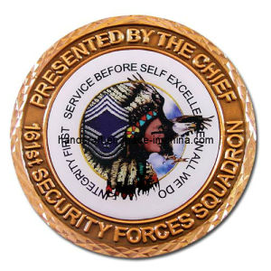 Challenge Coin with ′diamond Edge′ (AC1310)