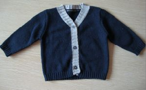 100% Cotton Baby Cardigan Baby Knitting Sweater
