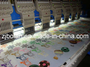 Computerized Operation and New Condition Flat Embroidery Machine pictures & photos
