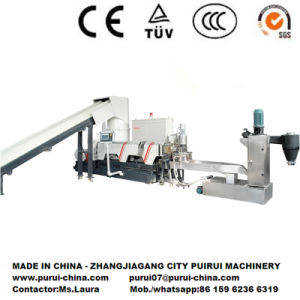 Low Noise Plastic Extrusion Machine with PLC Control pictures & photos