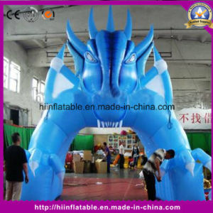 Hot-Sale Event Entrance Inflatable Blue Arch