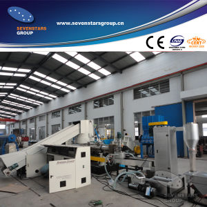 Plastic Recycling Machinery PE Granules Making Machine pictures & photos