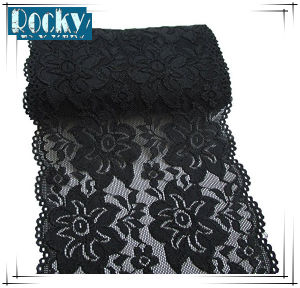 DIY Craft Elastic Lace Trimming Stretch Lace with Factory Price
