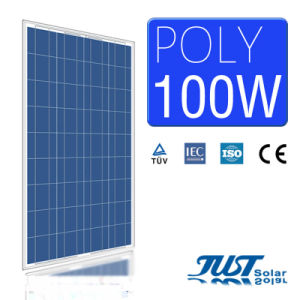 100W Poly Solar Panel with Certification of Ce CQC and TUV