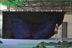 P75 Indoor Flexible Cloth LED Display for Stage pictures & photos