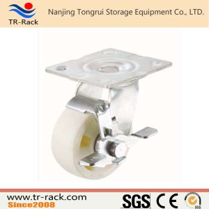 Medium Duty Rubber Wheel Casters with Customized Size pictures & photos