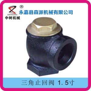 Gas Station Angle Check Valve pictures & photos