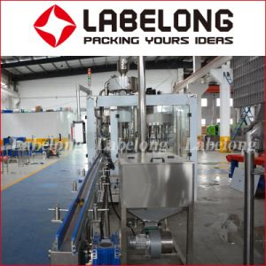 Glass Bottle Cold Fill Carbonated Drink Filling Machine pictures & photos