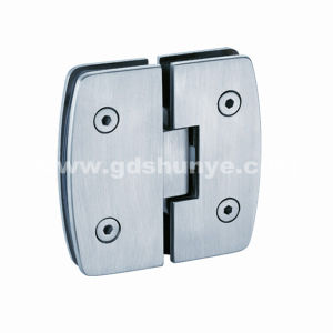 Stainless Steel Shower Door Hinge Bathroom Accessories Glass Clamp (SH-0230) pictures & photos