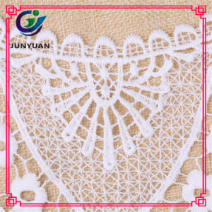 Knitted African Bridal Flower Pattern Organza Lace pictures & photos