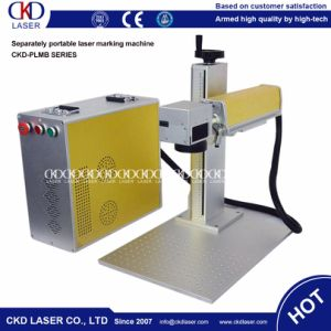 High Speed Laser Marking Machine for Alumina pictures & photos