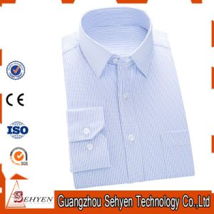 9fa92d84a9 China Men Light Blue Formal Business Dress Shirt of 100% Cotton ...