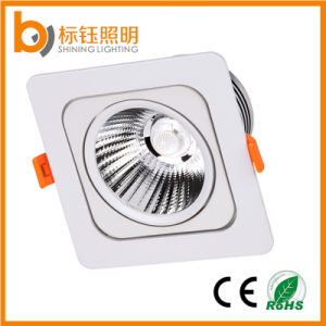 Square 15W LED Ceiling Light AC85-2650V Spot Indoor Lamp