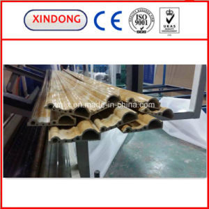 Fashionable PVC Imitation Marble Decoration Profile Extrusion Line pictures & photos