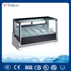212L 1.2 M Gelato Freezer Display Cabinet, Helado Storage Display Showcase, Ice Cream Freezer