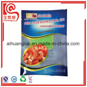 Customized Printed Side Seal Vacuum Plastic Food Bag pictures & photos