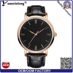 Yxl-098 New Hot Sale Leather Strap Men′s Watch Fashion Man Quartz Wrist Watch Custom Design OEM Wholesale Watches Factory pictures & photos