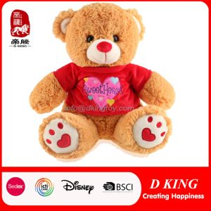 Valentine Day Hot Sale Stuffed Teddy Bear Plush Toy
