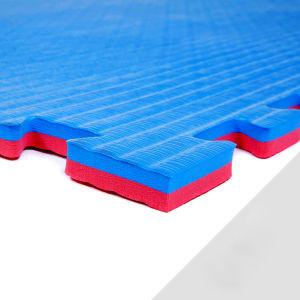 Reversible EVA Foam Taekwondo Tatami Karate Grappling Mat Judo Mat Straw  Pattern