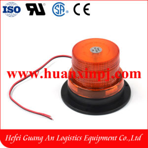 Forklift Part Orange Strobe LED Light 10-110V pictures & photos