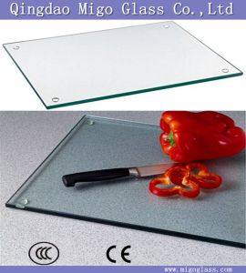 3-10mm Unbreakable Tempered Glass Cutting Boards / Toughened Glass Chopping Board