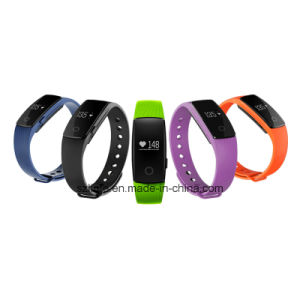 Top Selling ID107 Smart Movement Healthy Bracelet Tracker Waterproof Bluetooth 4.0 Smart Watch Bracelet