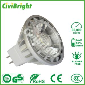 LED Spotlights COB 6W MR16 with PMMA Optical Lens pictures & photos
