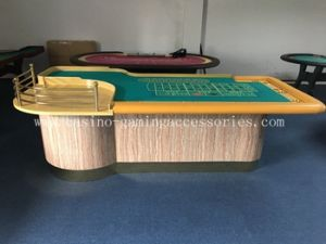 China 32 Inch Roulette Wheels Gambling Table MDF Casino Solid Wood