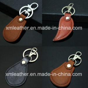 Men′s Leather Key Ring Key Case Keychain Holder