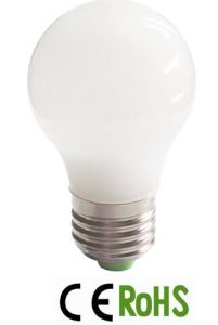 A55 LED Ceramic Glass Bulb E27 LED Lamp pictures & photos