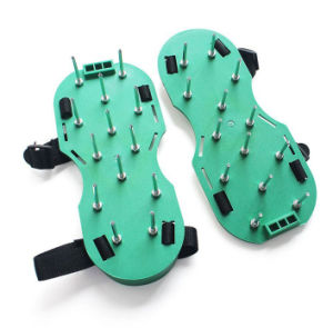High Quality Garden Tool and Lawn Aerator Spike Shoes with Adjustable Straps