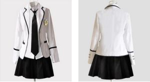 Fashionable High School Uniforms for Girls (Uniform130004) pictures & photos