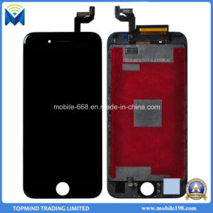 Mobile Phone LCD Screen for iPhone 6s with Digitizer Touch Screen with Metal Frame