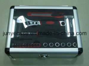 Aluminum Case with Cut-out Foam Inserted for Tools pictures & photos