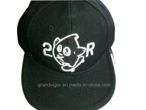 6 Panels Snapback Hat with 3D Embroidery Logo pictures & photos
