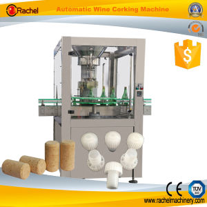 Automatic Sparkling Wine Bottle Corking Machine pictures & photos