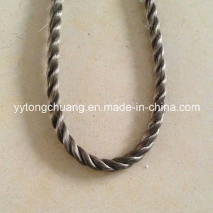High Temperature Basalt Fiber Braided Sealing Rope pictures & photos