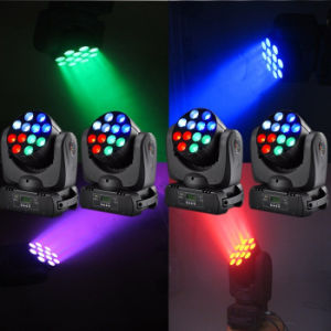 12X12W RGBW CREE LED Beam Moving Head Light pictures & photos