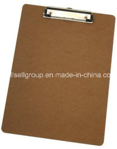 A4 MDF Writing Clipboard for Promotional Gift pictures & photos