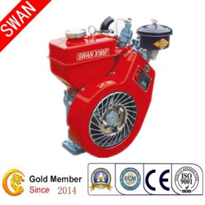 Air Cooled CE Approved Silent Diesel Engine (X165F)