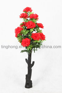 Hot Selling Home Decoration Artificial * 15 Peony Flowers