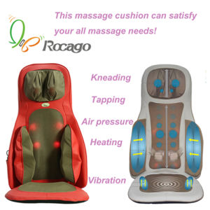 Rocago Neck Back Hip Heating Massage Cushion Body Massager pictures & photos