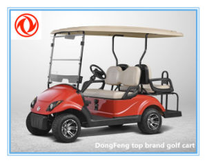 48 Battery Voltage 2+2 Seats Electric Golf Cart with 2 Years Warranty