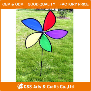 Toy Garden Decoration Polyester Windmill pictures & photos