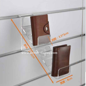 Acrylic Wall Mounted Wallet Display Stand pictures & photos