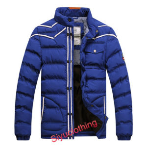 Men Leisure Padding Outdoor Winter Coat Fashion Jacket (J-1612) pictures & photos