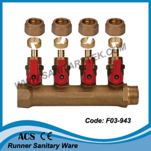 Manifold Mf with Ball Valve for Pex Pipe (F03-943) pictures & photos